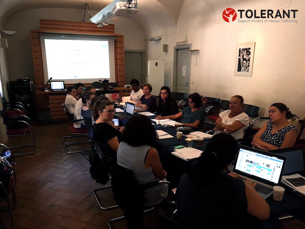 1st Exchange Workshop in Rome